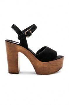 Shop for Steve Madden Lulla Platform in Black Suede at REVOLVE. Platform Pumps, Women's Pumps, Shoes Heels, Navy Sandals, Only Shoes, Shoe Game, Shoe Collection, Black Suede, Casual Shoes