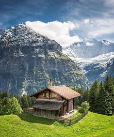 Dieter on Berge in 2019 Peaceful Places, Beautiful Places To Visit, Wonderful Places, Beautiful World, Cabins And Cottages, Log Cabins, Cabins In The Woods, Vacation Trips, Beautiful Landscapes