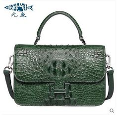 8d430af0d2b9 Yuanyu freeshipping 2017 new alligator skin women bag crocodile skin bag  single shoulder bag women handbag