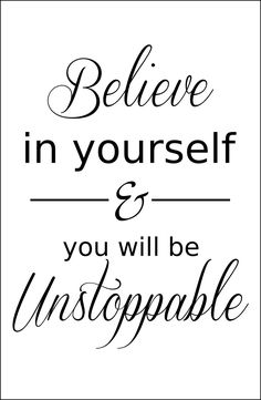 Believe in yourself fitness motivation. Browse our collection of inspirational quotes and get instant workout and fitness motivation. Stay focused and get fit, healthy and happy! http://www.spotebi.com/workout-motivation/fitness-motivation-believe-in-yourself/