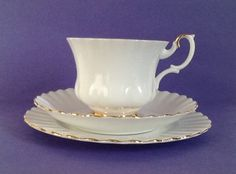 A personal favorite from my Etsy shop https://www.etsy.com/ca/listing/252683007/royal-albert-val-dor-bone-china-england