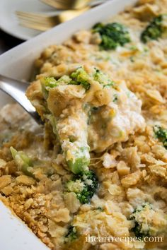 got to be the best Southern Broccoli Casserole Recipe EVER! It makes the perfect side dish, and yes this is a broccoli casserole with Ritz crackers! Broccoli Casserole, Casserole Dishes, Casserole Recipes, Chicken Casserole, Breakfast Recipes, Dinner Recipes, Dinner Ideas, Potluck Ideas, I Heart Recipes