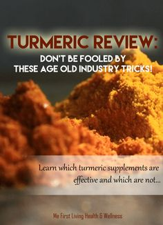 The best turmeric curcumin supplement doesn't have to be hard to find if you know what to look for! Turmeric review inside!