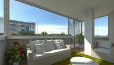 Le vetrate panoramiche valorizzano il proprio immobile.