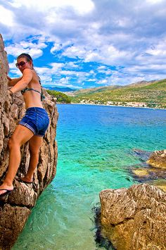 I wish I had gotten to climb when I was in Croatia. Love, love, love this country...