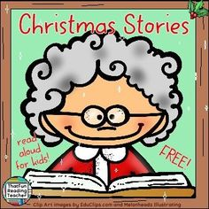 #FREE #ChristmasStories read aloud! Playlist on ThatFunReadingTeacher.com! Merry Christmas!