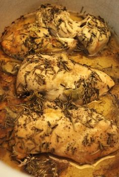 Crock Pot Mediterranean Chicken... This is my favorite recipe for chicken. It is delicious and goes with any side or on any salad.