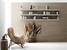 Scandinavian Furniture, Scandinavian Design, Shelving Solutions, Modular Shelving, Built In Shelves, Build Shelves, Outdoor Chairs, Outdoor Decor, Interior Photography