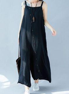 FRAUIT Plus Size Damen Langarm Kreuz V-Ausschnitt Maxikleid Mode Freizeit Stra/ßenkleid