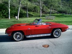 1965 corvette stingray, convertible