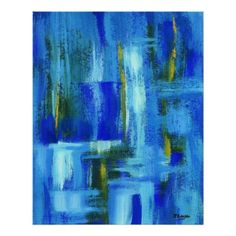 "Sky Juice Abstract Art Print Original Painting. $29.50 CAD for 24"" x 30"" (other sizes available)"