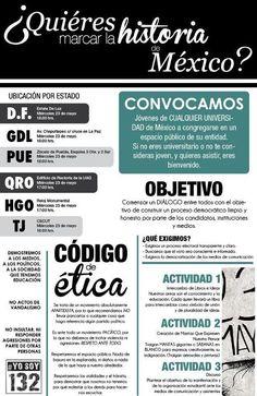 Quieres marcar la historia? #yosoy132
