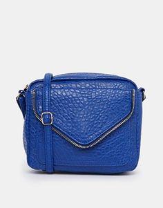 New+Look+Zip+Envelope+Flap+X-Body+Bag