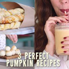 3 Fall-Fabulous Pumpkin Recipes