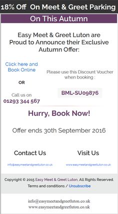Book safe parking for your vacation and have a wonderful and discount codes coding airports autumn parks travel fall voyage viajes m4hsunfo