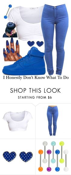 """Honestly~~"" by ja-la ❤ liked on Polyvore featuring NIKE"