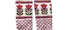 Kaupunki kukkii -sukat Crochet Stitches, Knit Crochet, Knitting Socks, Knit Socks, Handicraft, Mittens, Knits, Crocheting, Craft