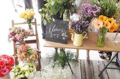 fresh flower bar