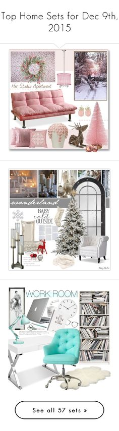 """""""Top Home Sets for Dec 9th, 2015"""" by polyvore ❤ liked on Polyvore featuring interior, interiors, interior design, home, home decor, interior decorating, Threshold, NOVICA, Crate and Barrel and Red Vanilla"""