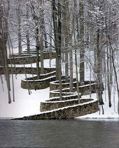 andy goldsworthy at the storm king art center