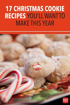 Looking for new Christmas cookie recipes? These treats will become your new go-to recipes. There's something for everyone, from chocolate to peppermint. #christmas #christmascookies #cookierecipes #christmasrecipes