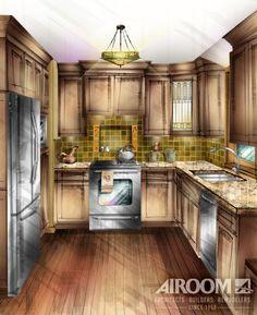 Airoom Kitchen Rendering