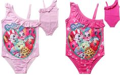 Shopkins One Piece Swimsuit *PRE-ORDER* Shopkins Clothes, Shopkins Outfit, Barbie House, Swimsuits, Swimwear, Irene, One Piece Swimsuit, Favorite Things, Zara