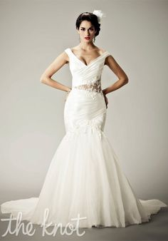 Friday Lace Looks We LOVE! Matthew Christopher 4504 'I Feel Pretty' Size 12 Retail $2,750 Our Price $300