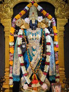 Today's Darshan (04-10-12) Lord Balaji @ISKCONPune