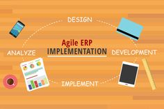 Agile is that concept where you can continuously design, test and implement the smaller parts of the system and then move on to the next system.  You design, build, test and seek feedback from customers early on and maximize the success.