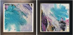 Two Art Prints Huge Wall Art Watercolor Print Beach Decor