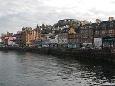 Oban, Scotland....Ahhh, I remember...
