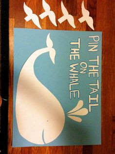 Pin the tail on the whale