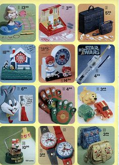 1978-xx-xx Montgomery Ward Christmas Catalog P426 - Peanuts
