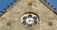 Cadran Bodet installé à l'église St André de Bayonne, Aquitaine - France.