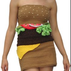 Hamburger Dress...