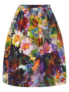 Buy Coast Adara Printed Skirt, Multi online at JohnLewis.com - John Lewis