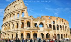 Colosseum – Eat, Click, Travel and Repeat! Tickets To Italy, Rome Tours, Cities In Europe, Shore Excursions, Archaeological Site, Ancient Rome, Campsite, Day Trip, Art History