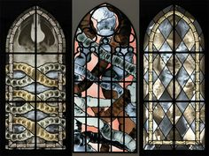 If It's Hip, It's Here: X-Ray and Anatomical Stained Glass Windows by Wim Delvoye