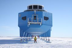 Antarctica  http://neoplaces.com/2013/02/19/mobile-home-mobile-lab-mobile-city/