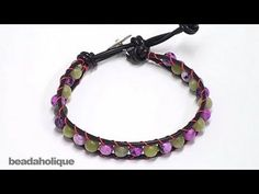 Great video showing how to make a Chan Luu inspired wrap braclet.  Can't wait to try it myself!