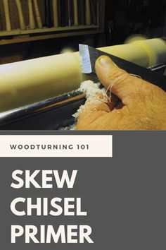 Keith Tompkins of the American Association of Woodturners gives an overview of how to get the most out of the oft misunderstood skew chisel. Small Wood Projects, Wood Turning Projects, Beginner Woodworking Projects, Welding Projects, Woodworking Tips, Wood Router, Wood Lathe, Cnc Router, Lathe Accessories