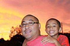 These two are #1 on the list of people I admire most. My dear husband and son :)