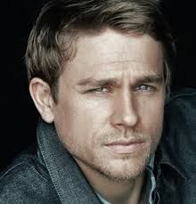 Charlie Hunnam as Lazarus, Lord Caire from Elizabeth Hoyt's 'Wicked Intentions'. Silver hair, sapphire eyes.