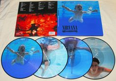 """Nirvana """"Nevermind"""" 20th Anniversary edition on picture disc vinyl"""