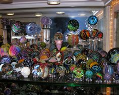 Art Glass, how beautiful and I still wish I could learn how to blow glass..