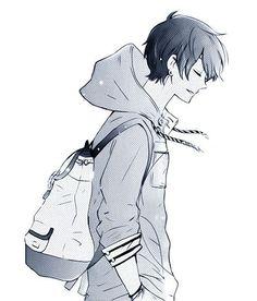 Resultado de imagen de personaje anime de perfil
