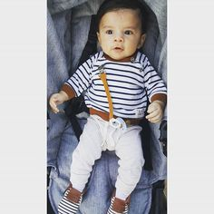 My sweet boy wearing his new moccasins and suede binkie clip from #sweetnswag I highly recommend them everything is well made affordable!!!