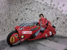 "Ride the ""AKIRA BIKE"""