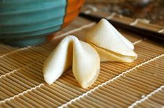 Fortune Cookie Recipe No Egg.Feeding Our Lives LLC: Homemade Fortune Cookies Using A . Home and Family Yummy Treats, Delicious Desserts, Sweet Treats, Yummy Food, Pavlova, Cheesecakes, Brownies, Cookie Recipes, Dessert Recipes